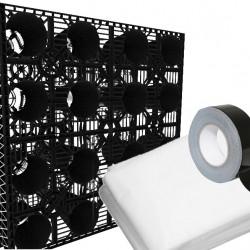 Stormcrate 1m x 1m x 400 (3 Crates/Membrane/Tape)