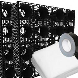 Stormcrate 1m x 1m x 400 (4 Crates/Membrane/Tape)
