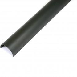 Cascade Deepstyle Cast Iron Style Gutter 4m BLACK