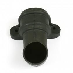 CASCADE Round Cast Iron Style SHOE WITH LUGS BLACK