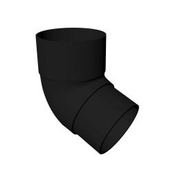 Round 112 degree Offset Bend BLACK